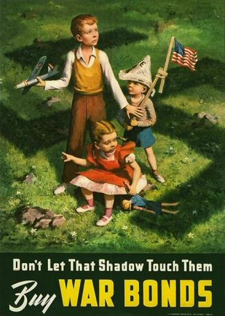 Poster: Don't Let That Shadow Touch Them - Buy War Bonds